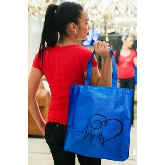 Bolsa Amor Azul