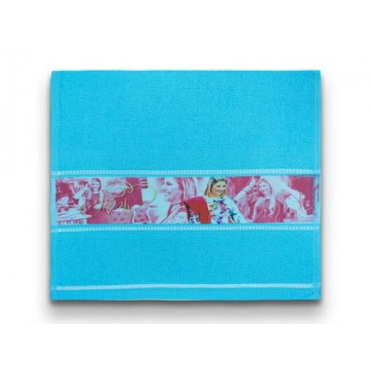 Toalha de Mão Azul