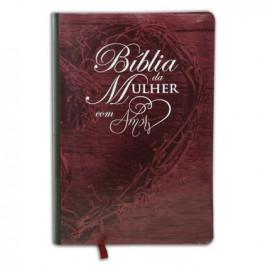 Bíblia da Mulher Amor Vinho