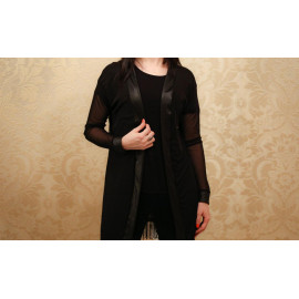 Manteau Duchesse (casaco de tule Preto)