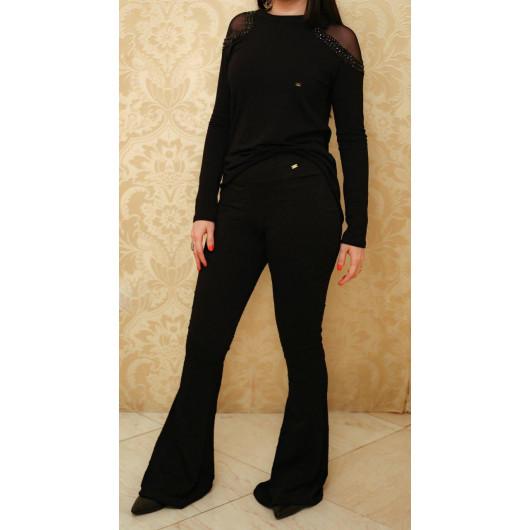 Pantalon Stylé (calça Jacar Preta)